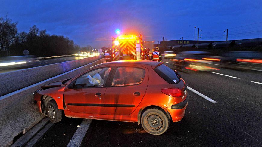Accident de la route (image d'illustration)