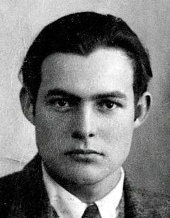 Ernest Hemingway (1923)