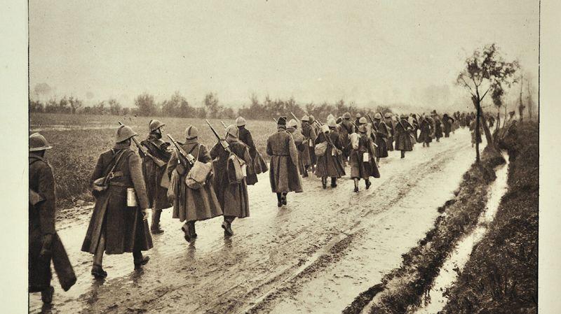 Poilus, lors de la première guerre mondiale 14-18
