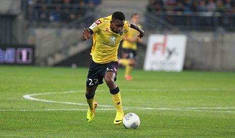 Cédric Bakambu, l'atatquant du FCSM