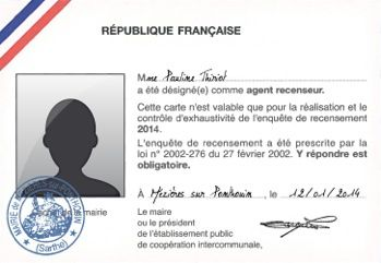 carte agent recenseur