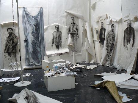 atelier d'Ernest Pignon Ernest 2