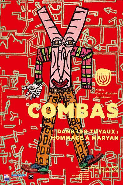 """Robert Combas - Exposition """"Dans les tuyaux"""""""