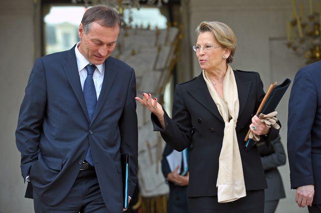 Jean-Marie Bockel et Michèle Alliot Marie