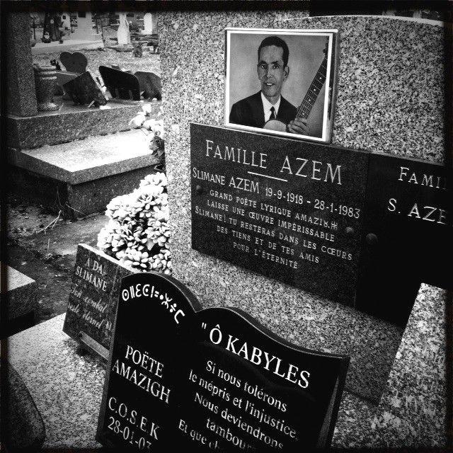 La tombe au cimetière de Moissac