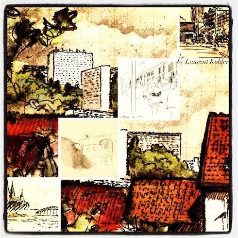 Textes de l'appel à écriture «L'esplanade» (Strasbourg) - S.Bissières (2/7)