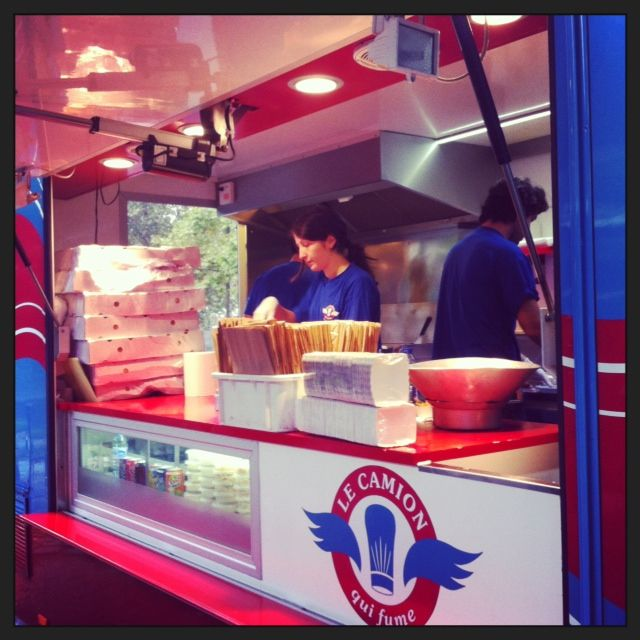 Food truck (Le Camion qui fume)