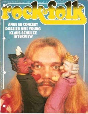Ange en couverture de Rock'n Folk