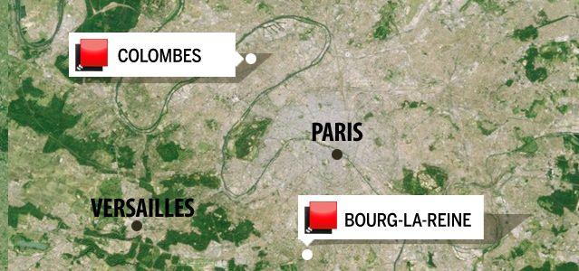 Carte jeu des 1000 euros - Hauts de Seine