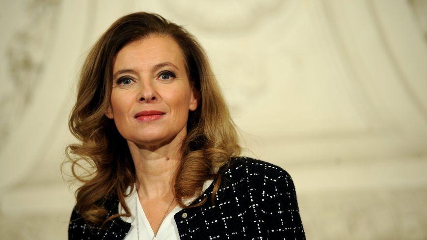 Valérie Trierweiler, la compagne du président François Hollande