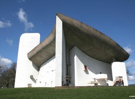 La chapelle de Ronchamp- le Corbusier