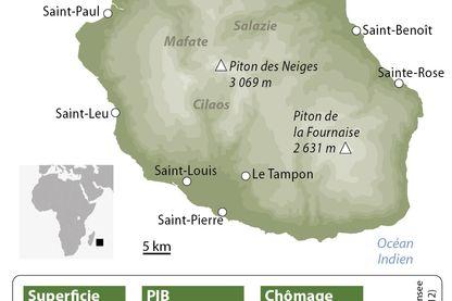 L'île de la Réunion en chiffres clé