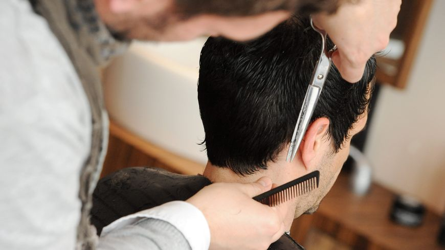 Salon de coiffure (illustration).
