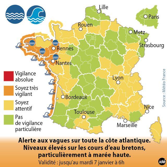 Intempéries en Bretagne