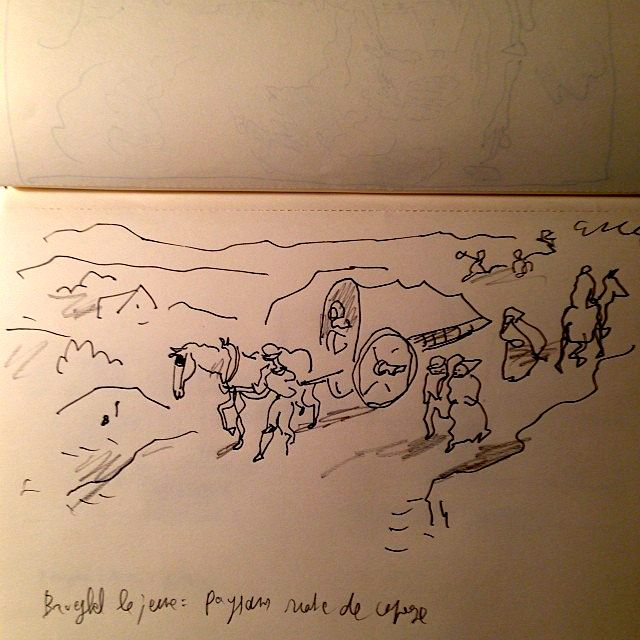 Brueghel le jeune - Sfar - Paysans