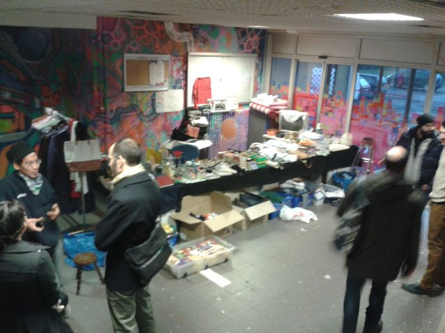 Collectif du Pavillon des Artistes à St Denis - Jardin