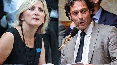 Françoise Dumas et Christophe Cavard