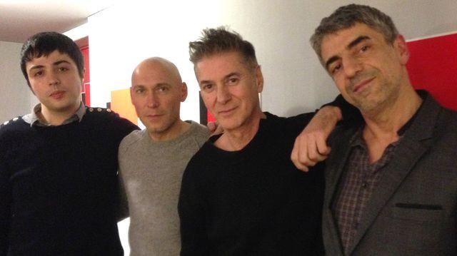 Perez, JL Pierrot, Etienne Daho et Didier Varrod