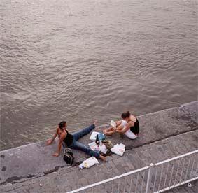 La ville de l'eau. Image du schéma directeur pour Anvers (2005), ph. Christian Nitti.