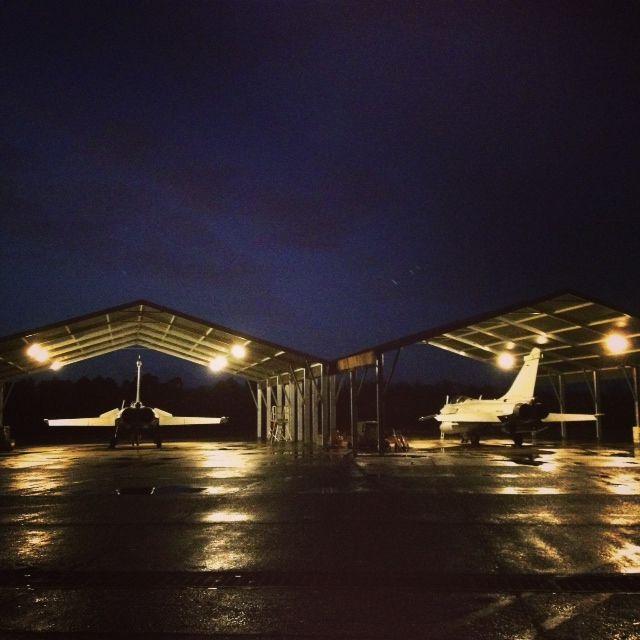 Les Rafale de la base aérienne 118