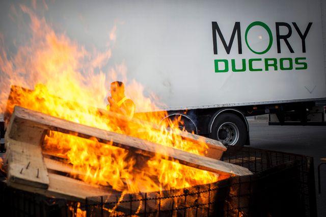 Mory-Ducros : manifestation