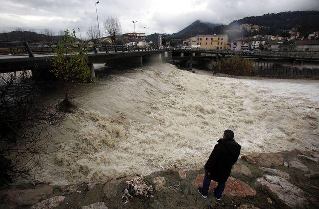 De violentes pluies dans les Alpes-Maritimes