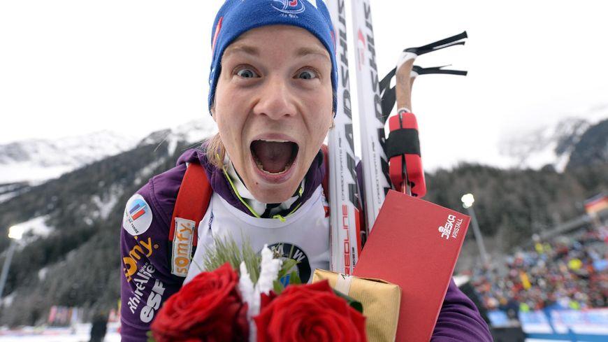 Anaïs Bescond, ski de fond neige, tir, biathlon, biathlète