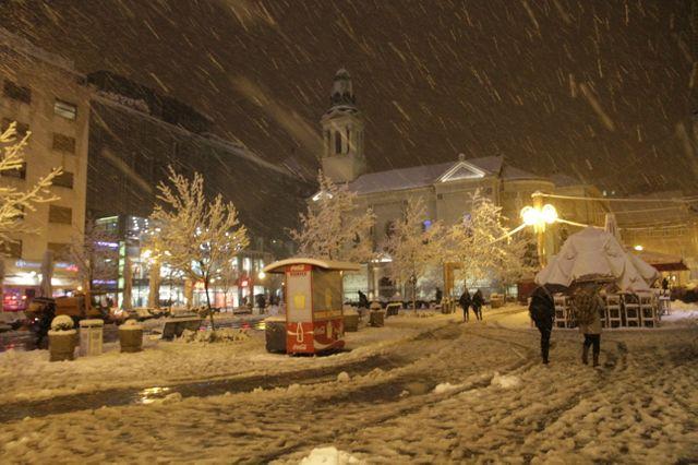 Le centre de Zagreb