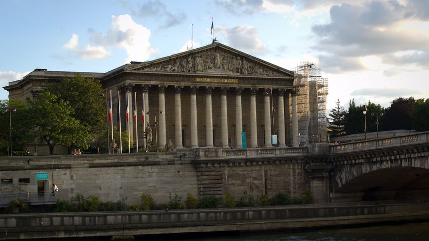 ASSEMBLEE NATIONALE fronton