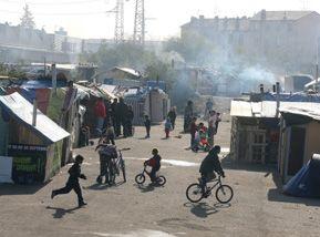Camp de Roms à Villeurbanne