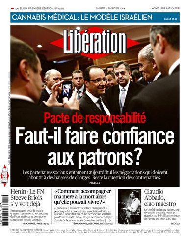 Une Libération - 21.01.2014