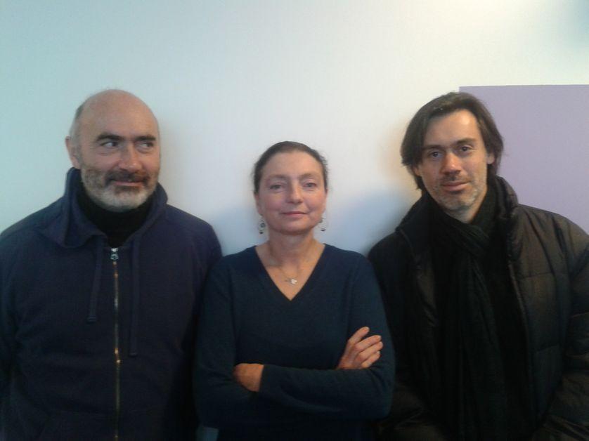 Jean-Luc Gaget, Solveig Anspach et Emmanuel Mouret