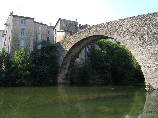 Le vieux Pont du Vigan (Gard)