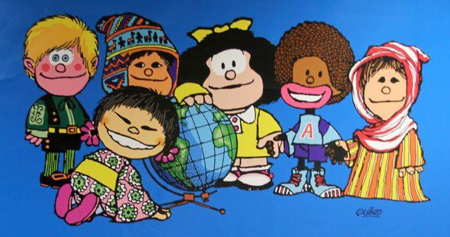 L'exposition Mafalda, une petite fille de 50 ans