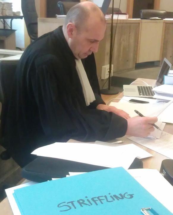 Maître Canis, l'avocat des parties civiles dans le procès du braquage de la bijouterie Striffling