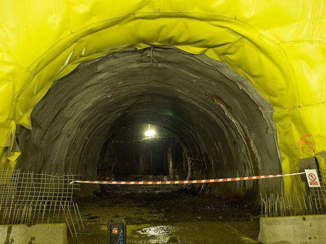 Tunnel Blanka, à Prague