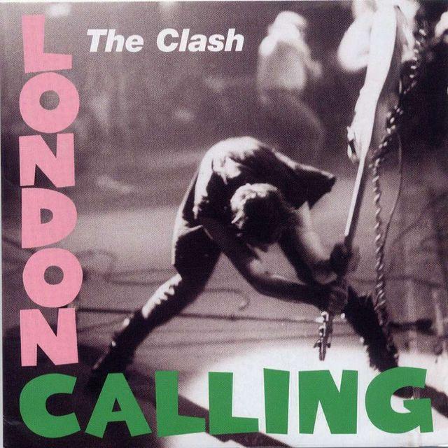 Pochette London calling - The Clash