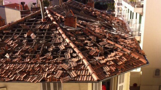 Explosion d'un immeuble à Nice