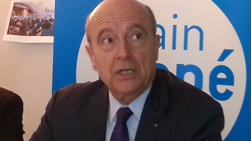 Alain Juppé a repris ses activités ce samedi