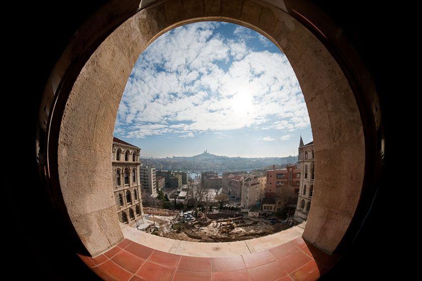 Vue de la cité phocéenne