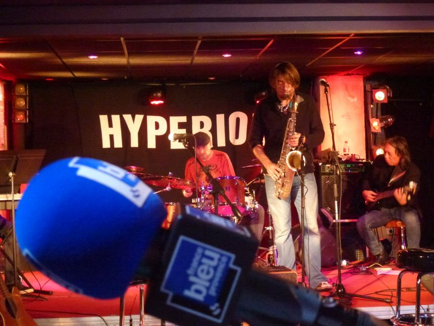 John Massa à l'espace musical Hypérion pour l'AïoLive #3