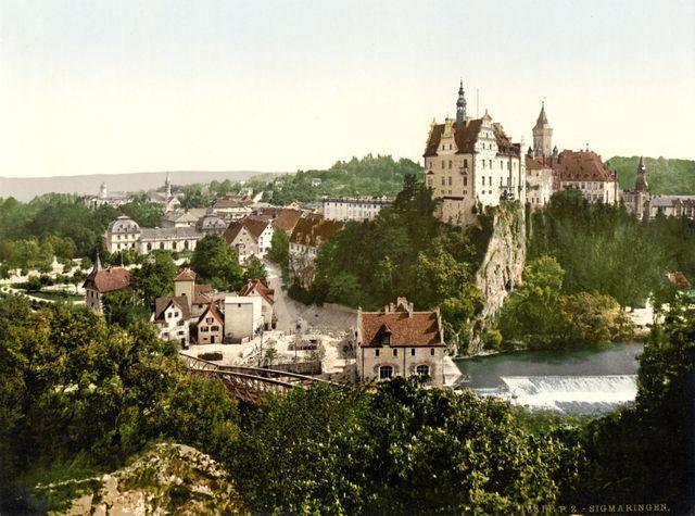 Sigmaringen - Photochrome vers 1900