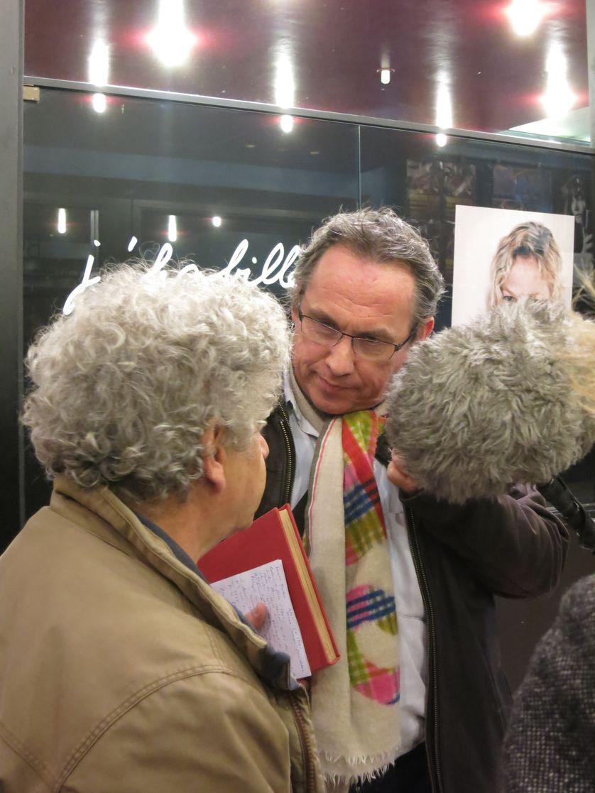 Michel Embareck et Emmanuel Laurentin