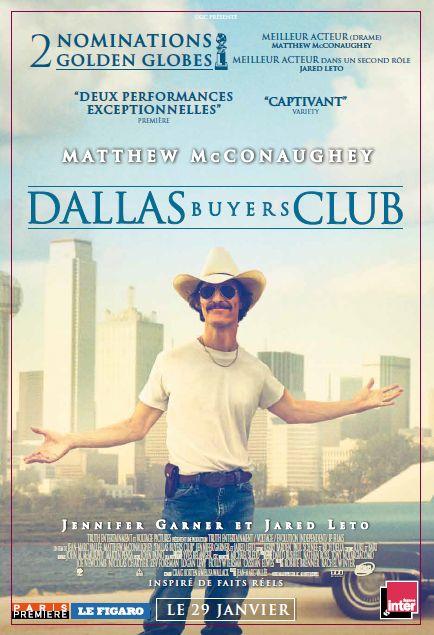 Dallas Buyers Club Affiche logo