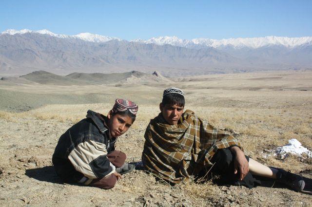 Ramatullah,  victime d'une mine dans la province de Parwan en Afghanistan