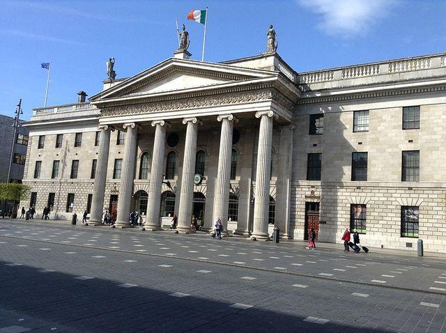 La grande Poste de Dublin