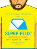 Affiche festival Super Flux Tours 2013