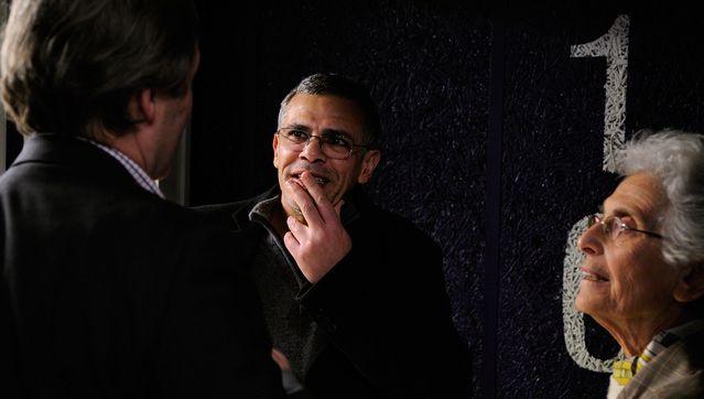 Abdelatif Kechiche face à Jérome Garcin dans les coulisses du Masque et la plume
