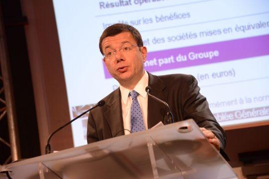 Directeur financier de PSA Peugeot Citroën
