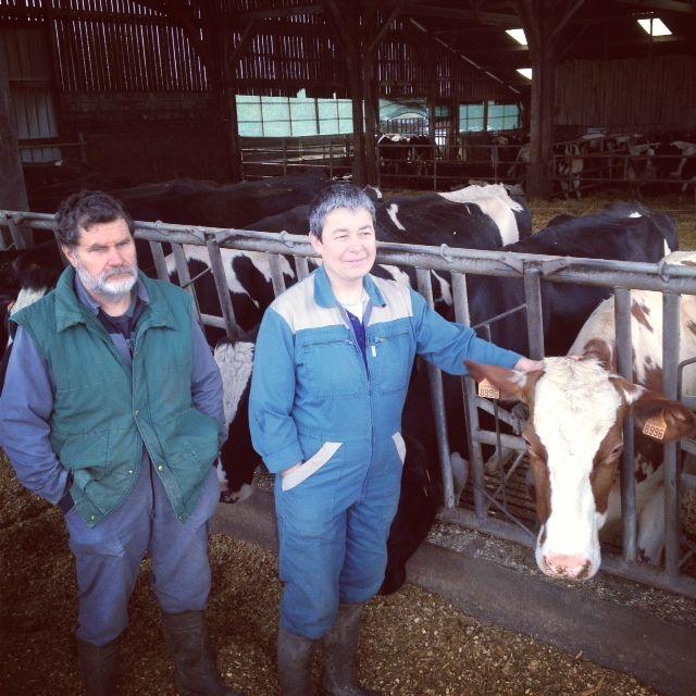 Marcel et Sylvie Thebault sont parmi les très rares agriculteurs à être restés sur place malgré l'ordonnance d'expropriation.